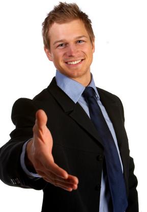 vendedor bem sucedido
